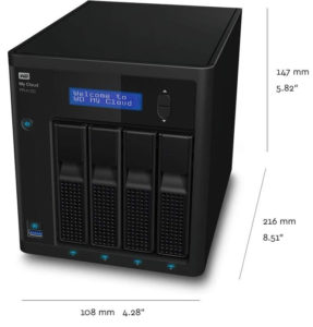 WD My Cloud Pro PR4100 Boîtier NAS - 4 Baies